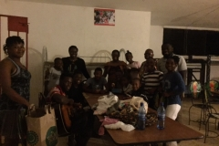 Pastor Vincent's home where he nurtures 13 children from 4 -18. The girls room has a nanny who is there to watch over them.